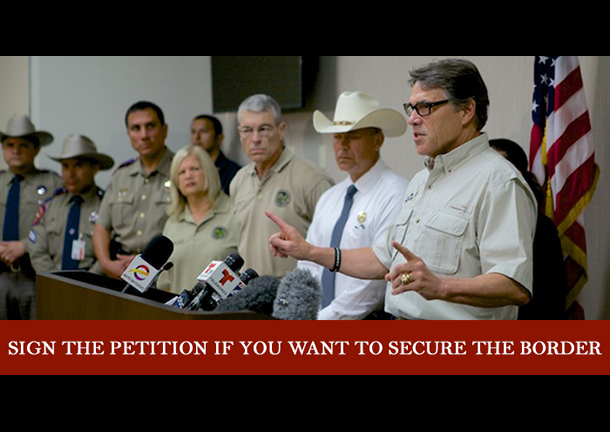 You can sign the petition or donate money to Perry's reelection campaign by visiting his website.