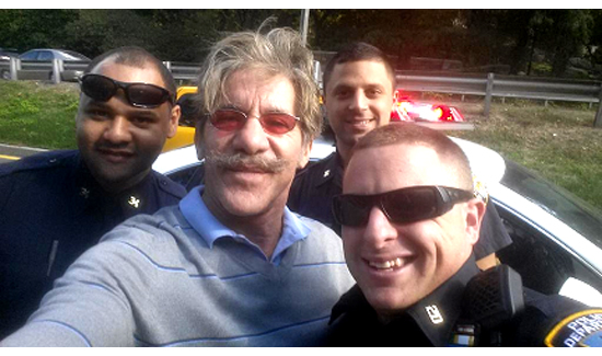 @GeraldoRivera: … thanks to Officer Kublo and others from the 20th Pct who responded professionally and promptly to Erica's accident.