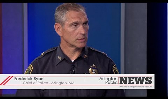 Arlington, Massachusetts Police Chief Frederick Ryan has an officer assigned to the FBI's Child Exploitation Task Force.
