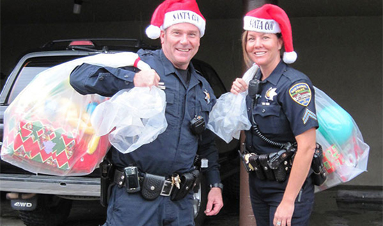 Across the nation our law enforcement officers are gearing up for the holidays.