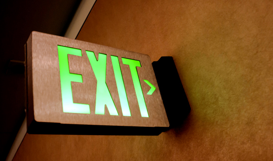 getting-out-exit-sign