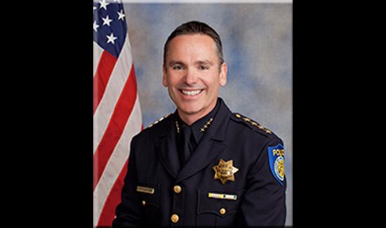 Sacramento PD Chief Samuel Somers