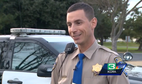 California Highway Patrol Officer Todd Dehaan