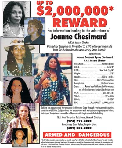 chesimard reward poster.cdr