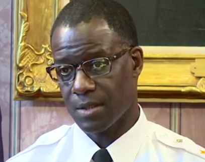 Cleveland Police Chief Calvin D. Williams