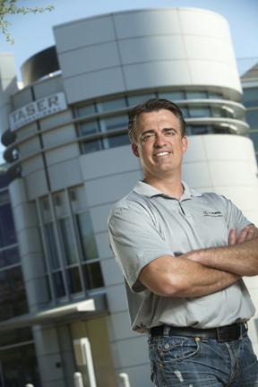 TASER International CEO Rick Smith