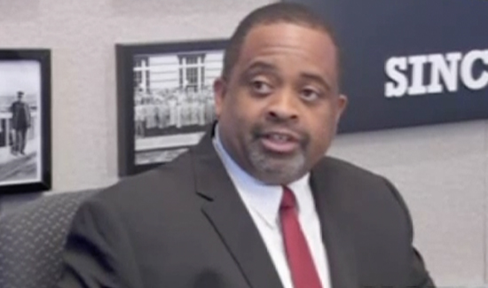 Daryl Turner, president of the Portland Police Association. (Photo: YouTube)