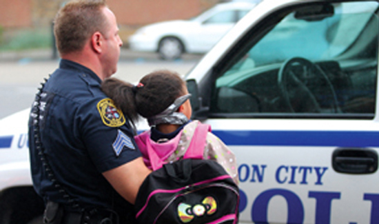 For most officers, job satisfaction is highest when they have helped someone.