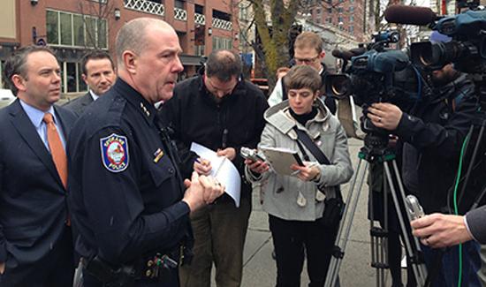 Spokane Police Chief Frank Staub (Photo: Spokane Police Dept. Facebook page)