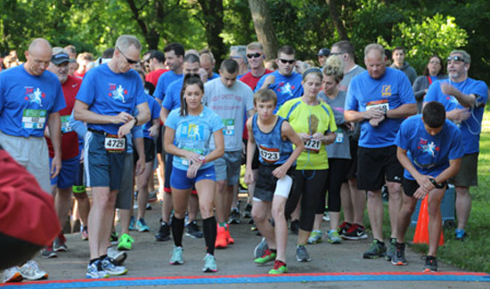Dozens of Streamlight Employees Ran in the 5K/Fun Walk to raise money for Concerns of Police Survivors.