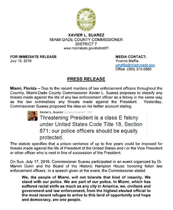 Press Release - Police