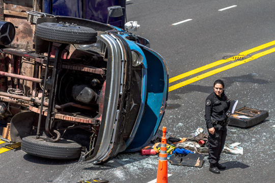 Roadway accidents with multiple fatalities—including young children—is one of the most common causes of post-traumatic stress disorder for cops.