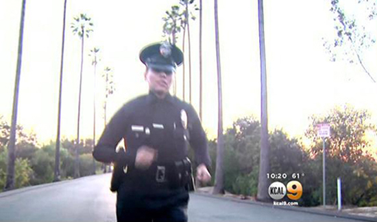 LAPD Officer Kristina Tudor (Photo: CBS)