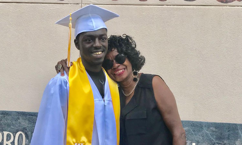 Andres Todd Graduation