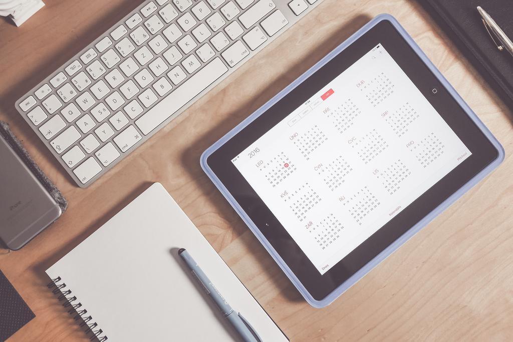 Tablet Calendar