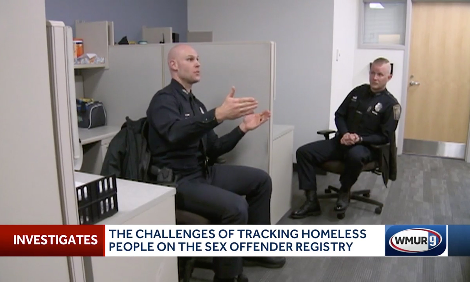 Law enforcement struggles to track homeless people on sex offender registry