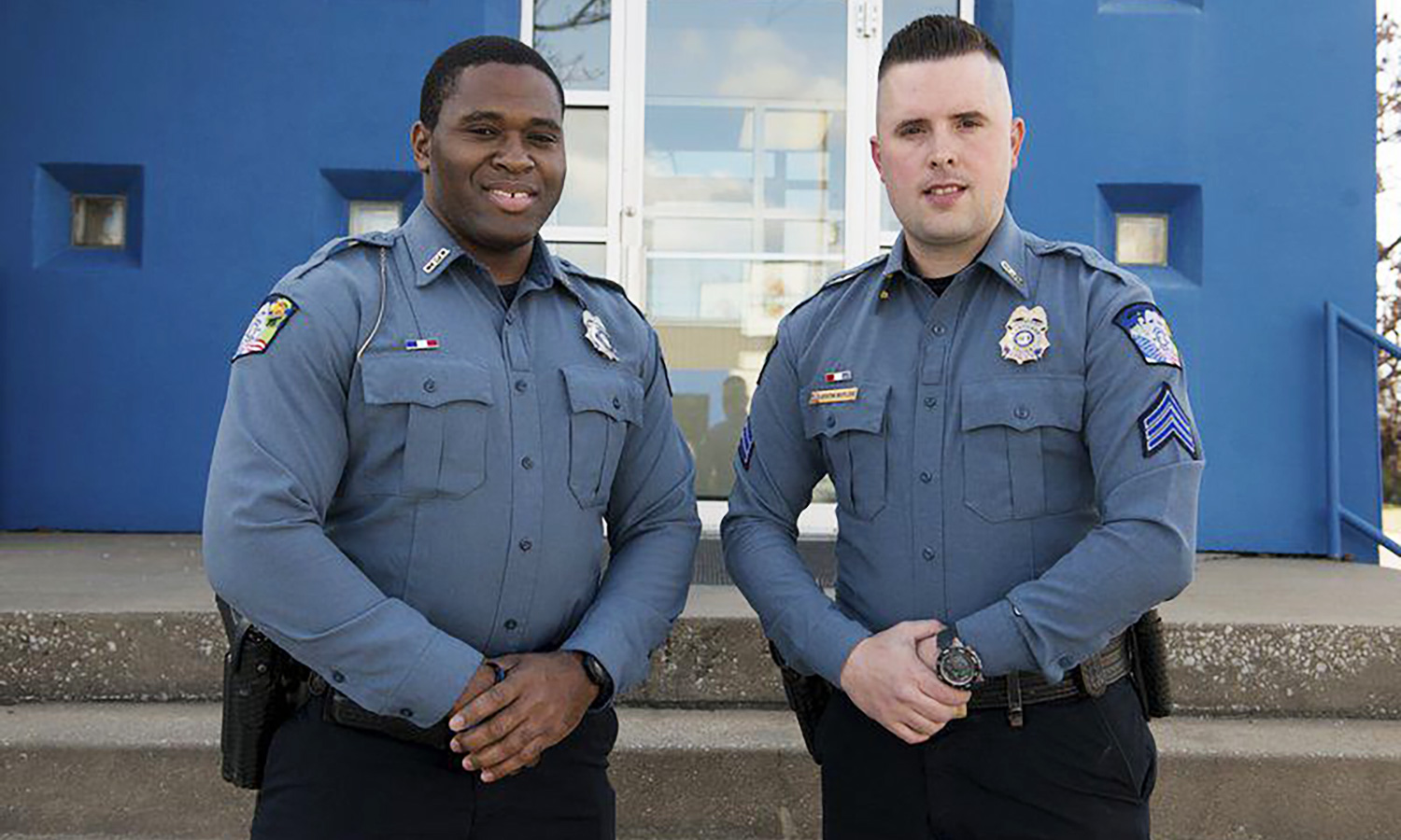 Carthage police officers earn department's first Life Saving