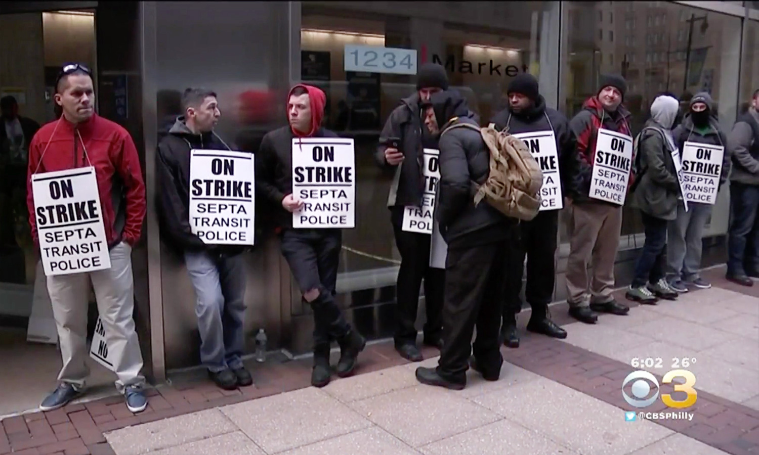 Nearly 200 SEPTA Transit Police Officers On Strike After Union