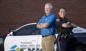 Rookie, chief among Roanoke officers who rescued man on bridge