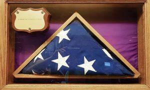 In memory of a homeless veteran