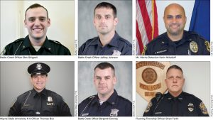 Six Michigan officers honored for their bravery