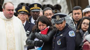 A cop's funeral