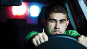 He ran from a traffic stop … then he ran his mouth, too