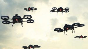 Mysterious drone swarms baffle law enforcement