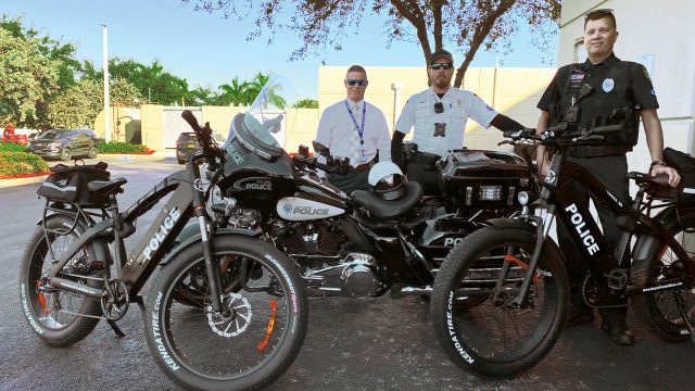 Cape Coral Police Department testing mountain e-bikes for patrol