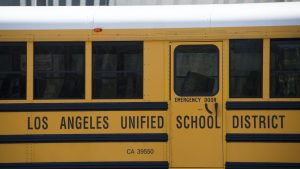 LA school board cuts police funding to support...