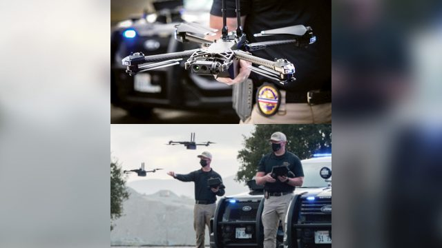 Law enforcement begins testing Skydio drones