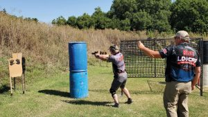 Competitive shooting for law enforcement officers