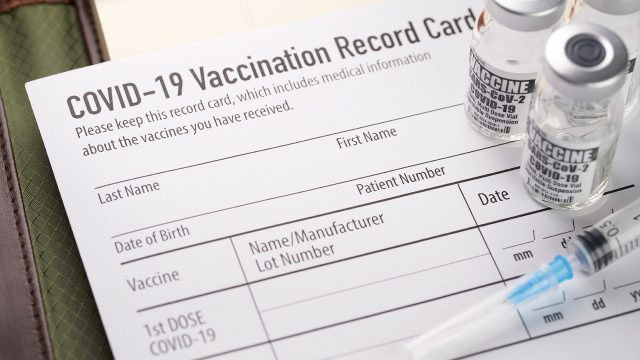 Lack of vaccinations among cops