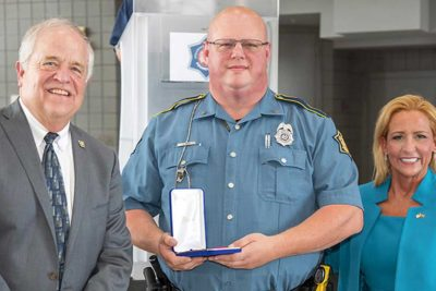 Arkansas officer honored as Trooper of the Year after saving girl's life