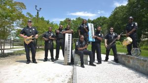 LEO funk band Side By Side hits the streets this summer with music for the community