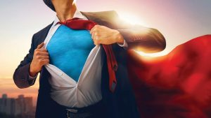 Superheroes, symbols and the real world