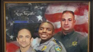 """""""The worst day of my life;"""" law enforcement leaders and members of community reflect on deadly 2016 ambush on anniversary"""