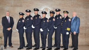 Two women make history as the first female Black police officers in Bayonne