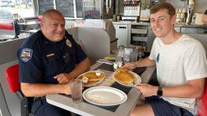 That cop was waffle-y helpful