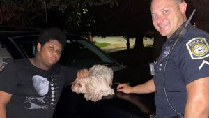Lost and found: Columbus police officer locates missing girl and dog on same day