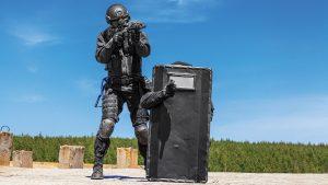 Ballistic shields for patrol