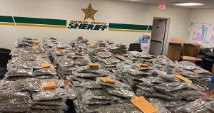 "Florida sheriff jokingly offers to return 770 pounds of marijuana to ""rightful owner"""