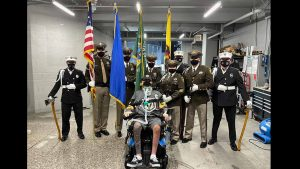Paralyzed Officer Shay Mikalonis awarded 2020 Law Enforcement Officer of the Year