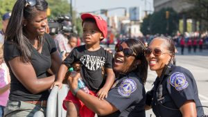 Indianapolis police host community events after violent summer