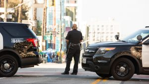 L.A. police and fire agencies tackle COVID-19 outbreaks while many officers resist vaccine mandates