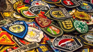 Hobbyist collects almost 6,000 first responder patches